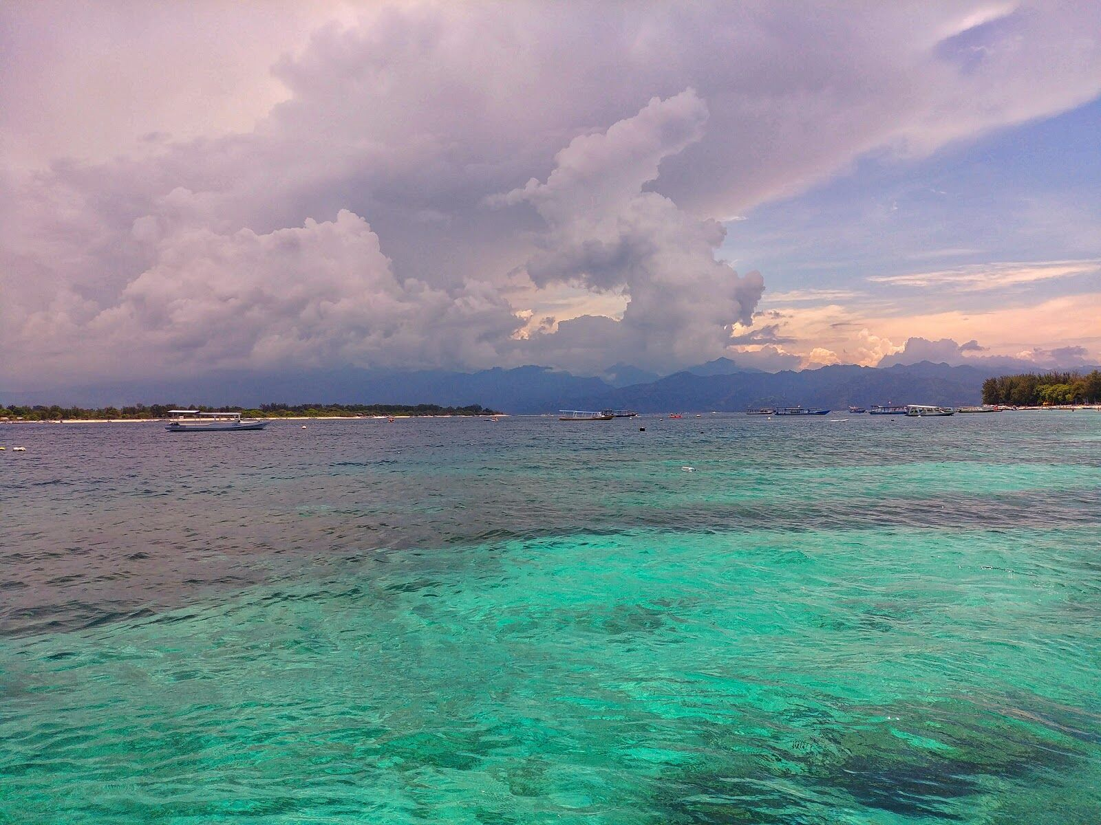 Острова Гили, Ломбок, Индонезия