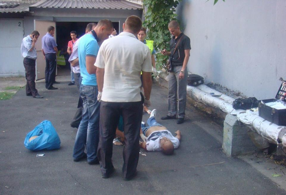 Вбивця чекав на Сергія Бруквача