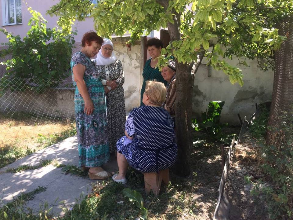 Обшуки в будинку Ахтема Мустафаєва