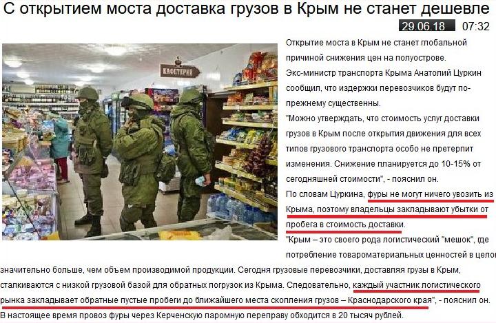 Окупанти розповіли, що буде із цінами в Криму