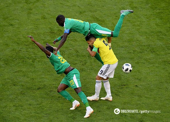 Сенегал – Колумбия