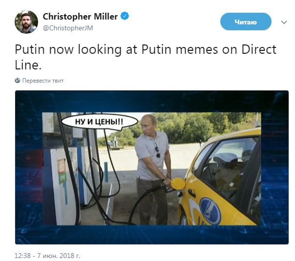 """На """"прямой линии"""" с Путиным вышли неудобные вопросы и мемы"""