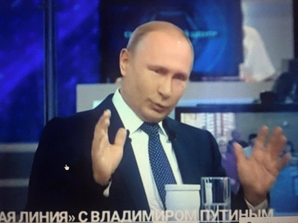 Можно по Фрейду оговориться, а можно обделаться, что Путин и сделал