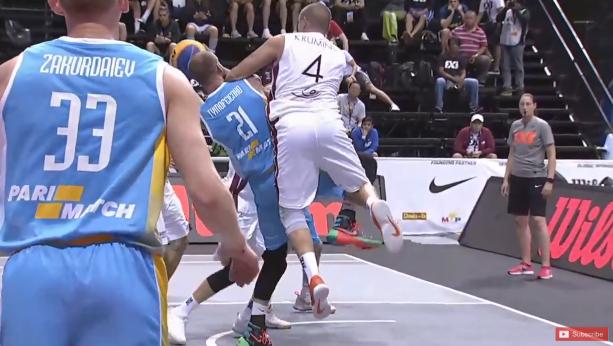 Украинцы драматично стартовали на КМ по баскетболу 3х3