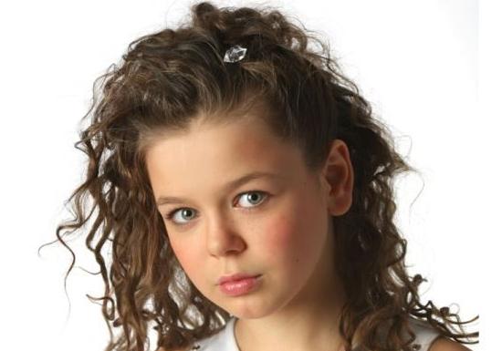 Аліна Гросу в дитинстві