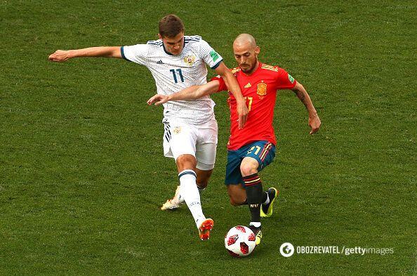Испания – Россия