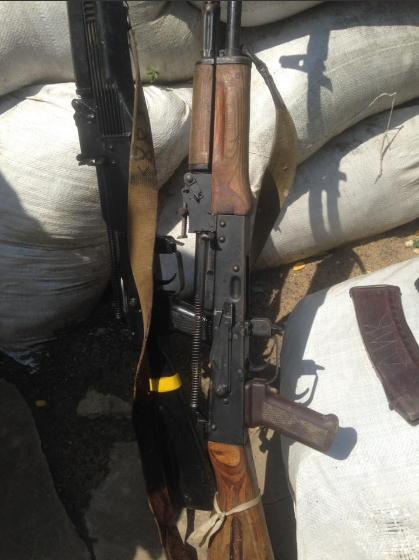 """Об'єднані сили знищили терористів """"ДНР"""""""