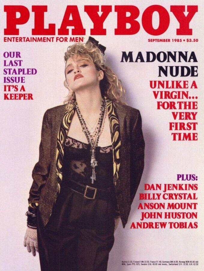 Мадонна в журнале Playboy за 1985 год