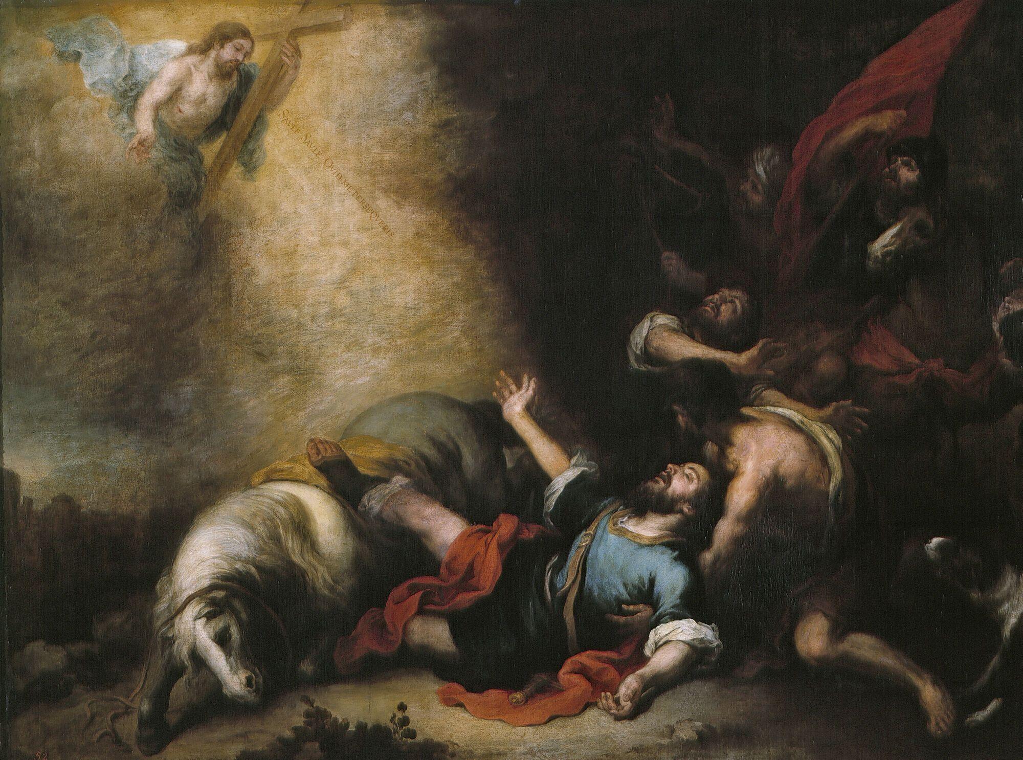 Бартоломео Мурильо, Обращение святого Павла