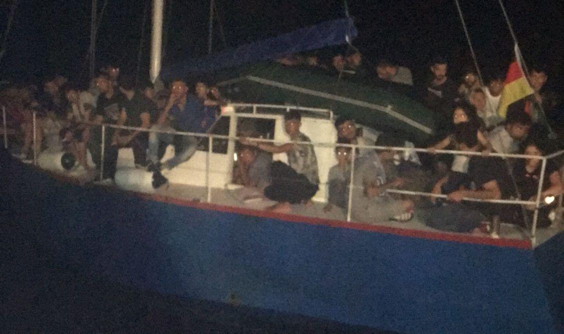 На украинско яхте перевозили нелегалов в Италию