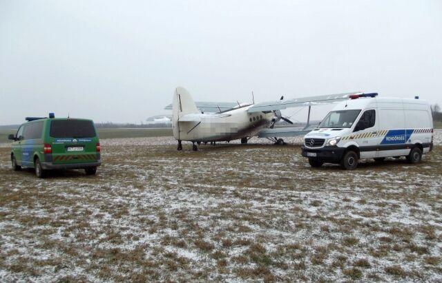 В Венгрии задержали украинский самолет с нелегалами