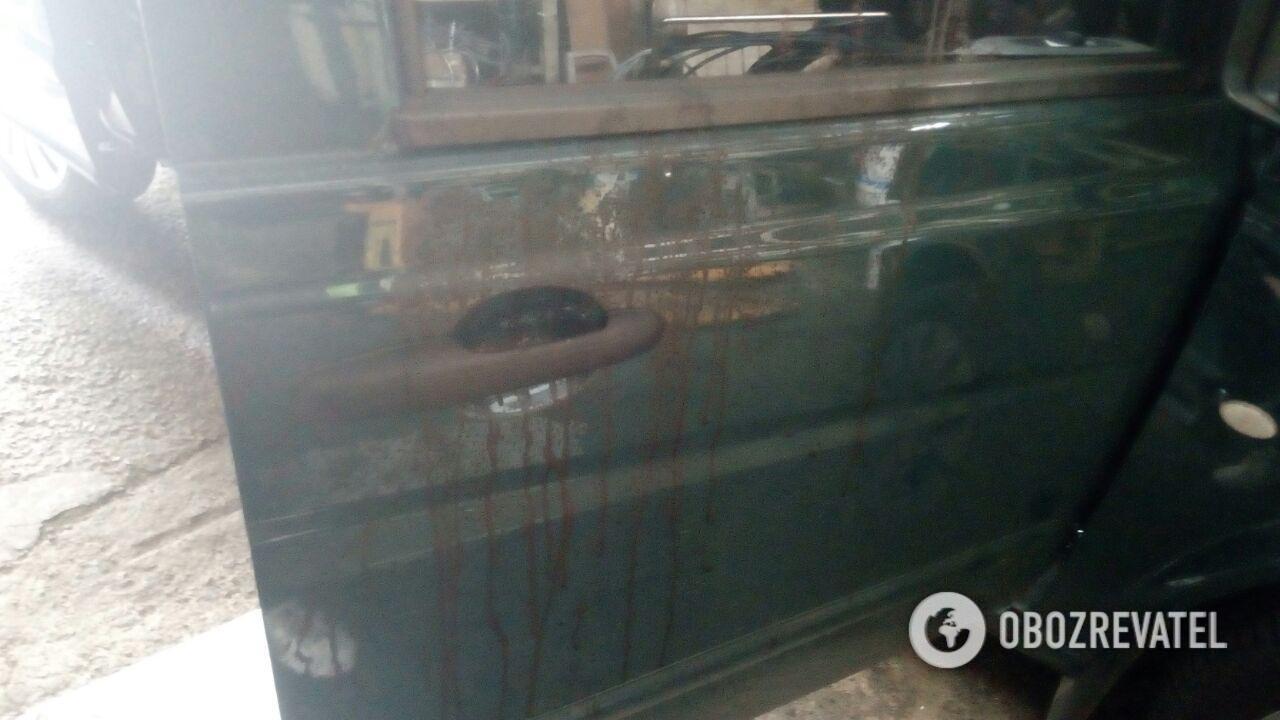 З'явилися нові фото з місця жорстокого вбивства сина екс-нардепа в Києві