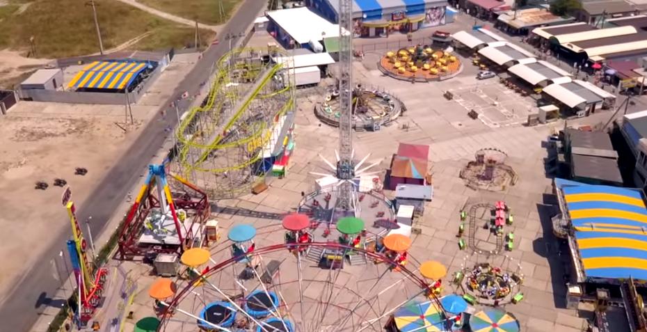 Політ над курортом Азовського моря: опубліковано відео