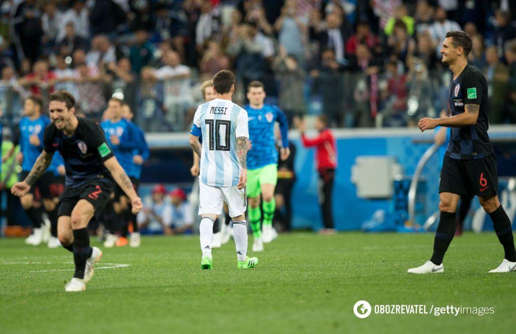 Игроки сборной Хорватии повторили поступок Виды и Вукоевича