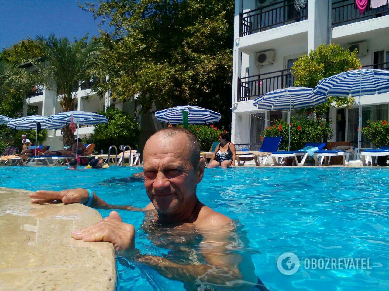 Андрей в Турции отдохнул только один день
