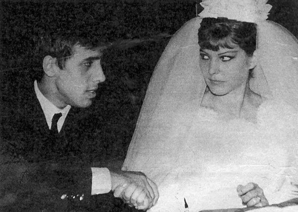 Свадьба Адриано Челентано и Клаудии Мори