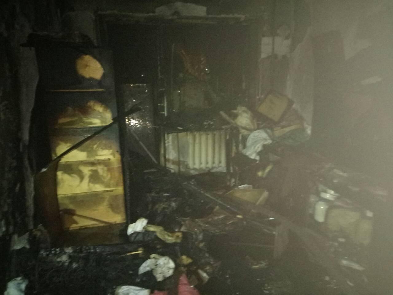 Запорожец сгорел в собственной квартире
