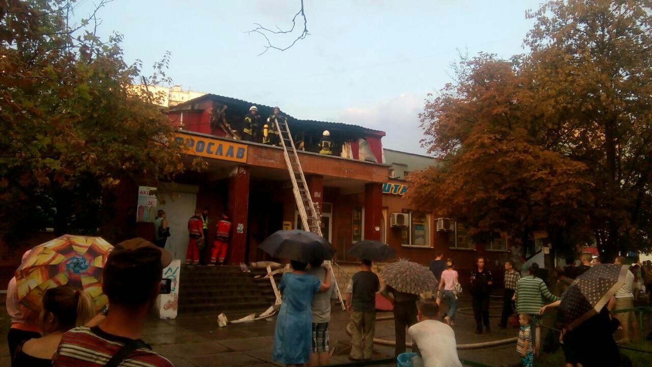 Пожар в киевском хостеле