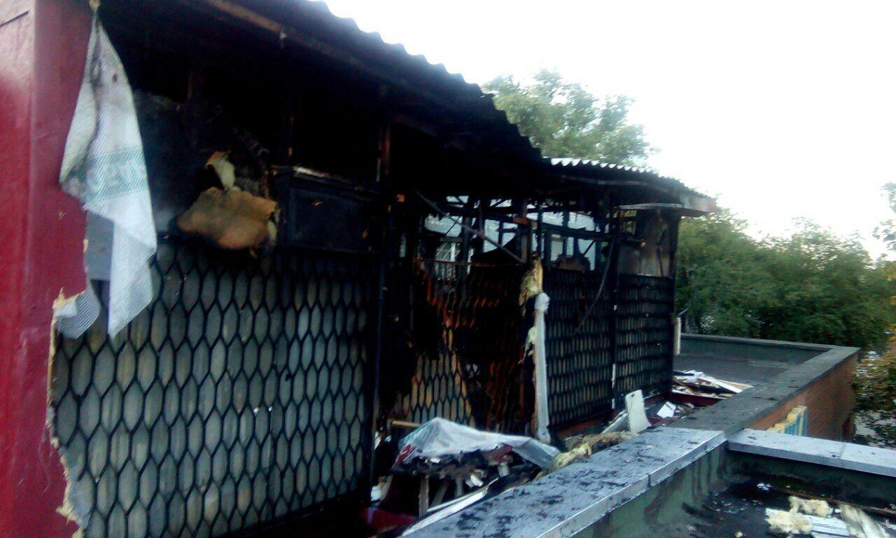 Пожар в хостеле