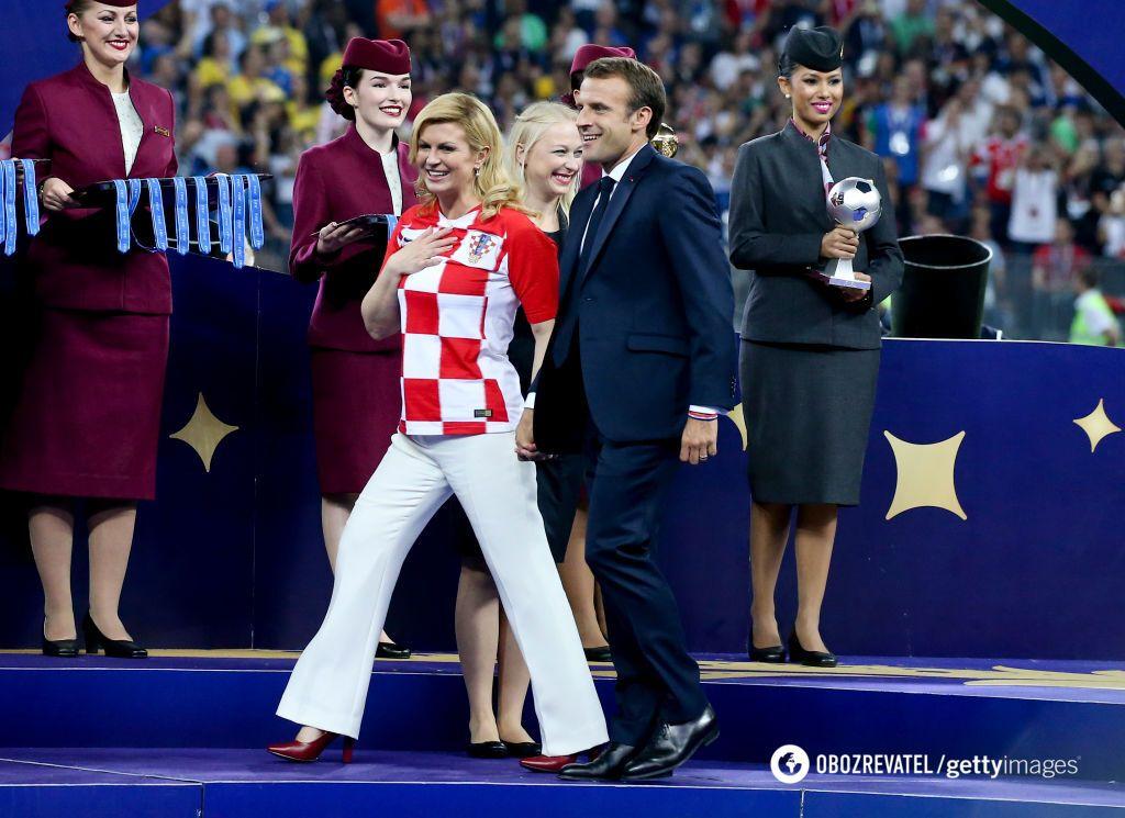 Встигла закохати: президенти Франції та Хорватії розчулили мережу