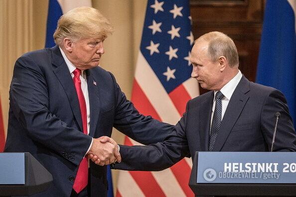 Встреча Трампа и Путина: названы странности