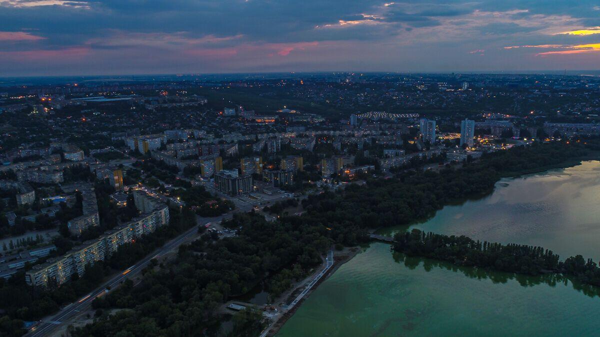 Вид завораживает: появились фото и видео райского уголка в Днепре