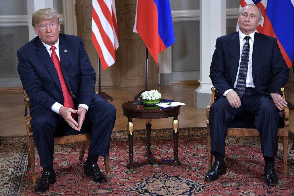 """""""Від горшка два вершка"""": підбори Путіна на зустрічі з Трампом заінтригували мережу"""