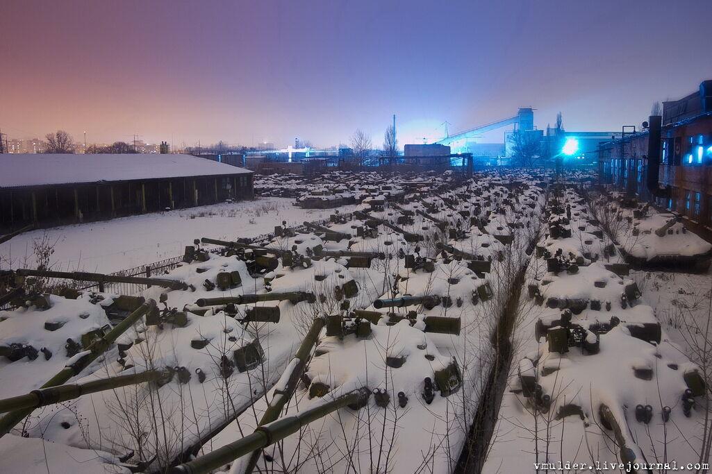 Фото Харьковского бронетанкового завода и ранее появлялись в Интернете
