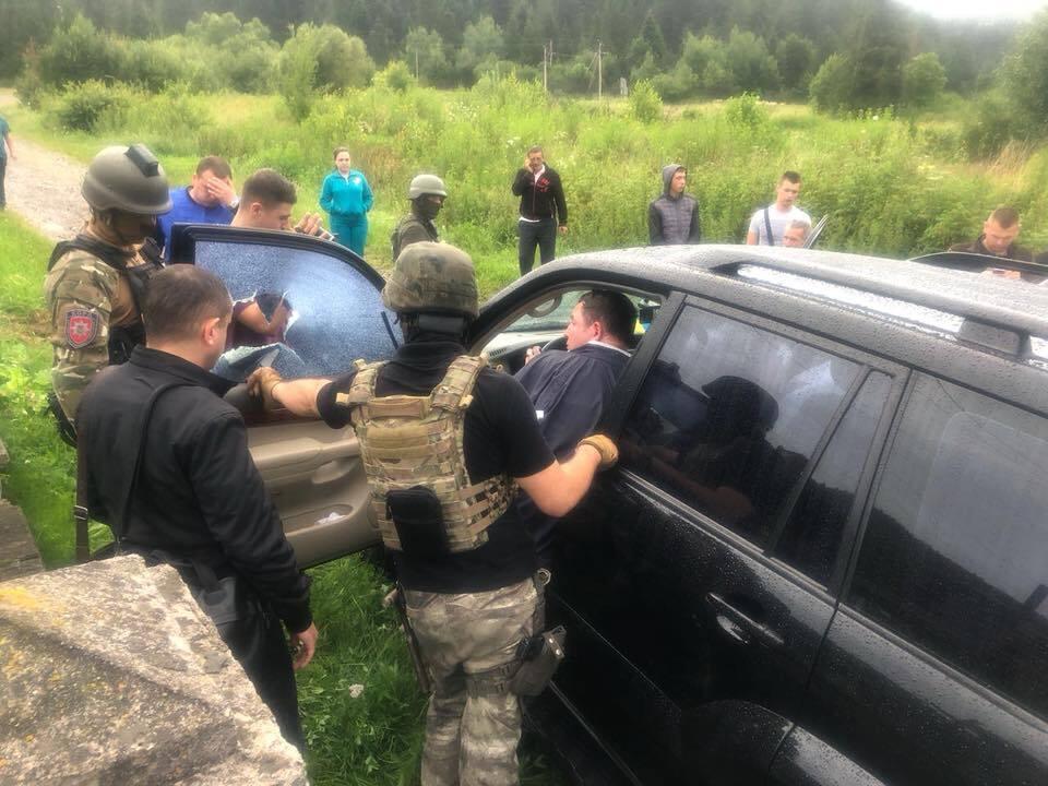Задержания Владимира Москаля