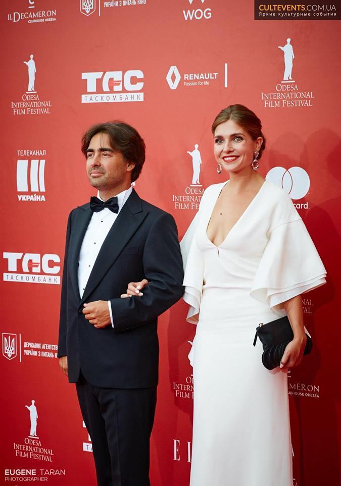 Красная дорожка Одесского международного кинофестиваля 2018