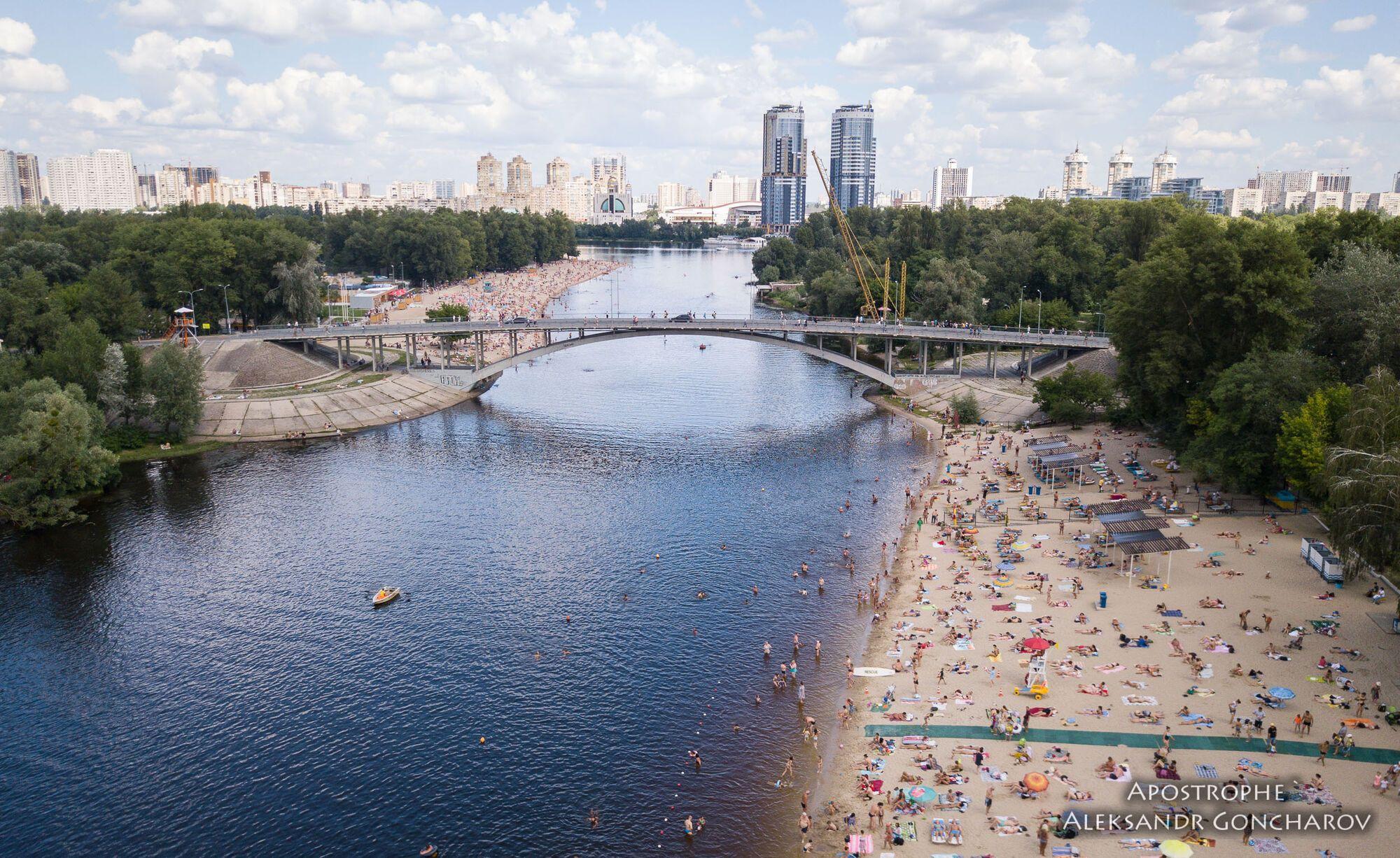 Лето в Киеве: опубликованы яркие фото с высоты птичьего полета