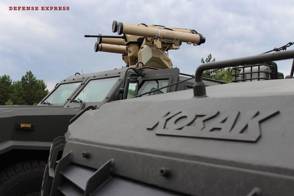 Унікальний броньовик ЗСУ оснастили потужною зброєю