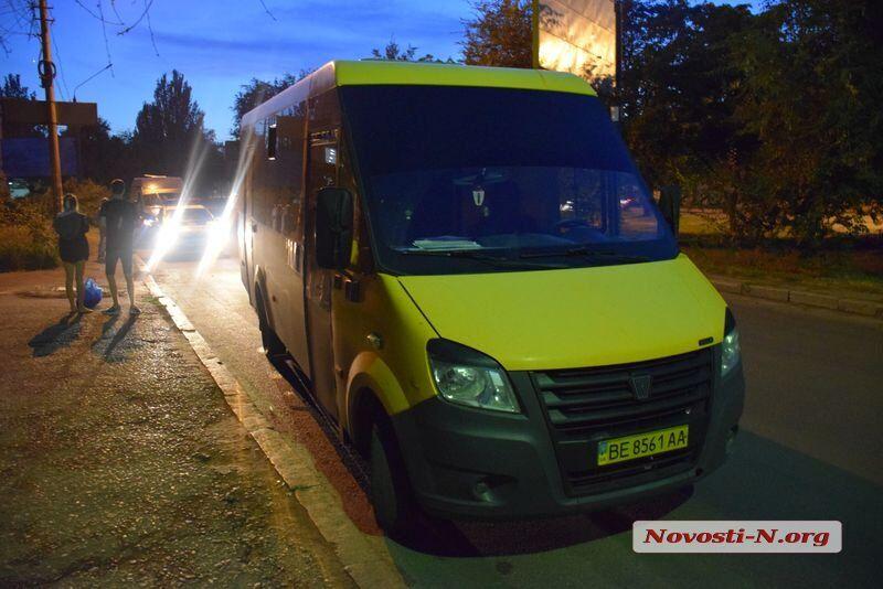 У Миколаєві водій маршрутки побив пасажирів