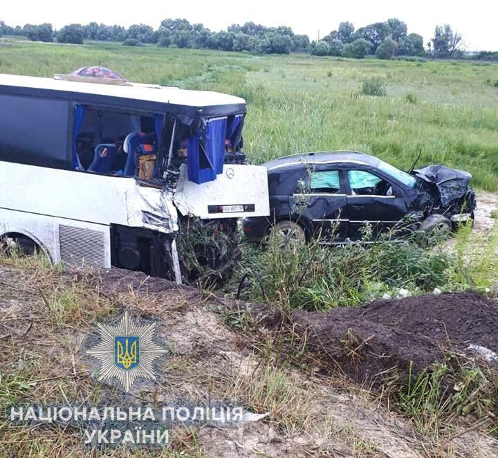 На Ривненщине киевлянка влетела в автобус