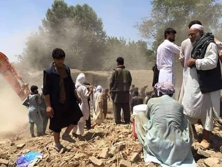 В Афганистане ударили по талибам: погибли дети