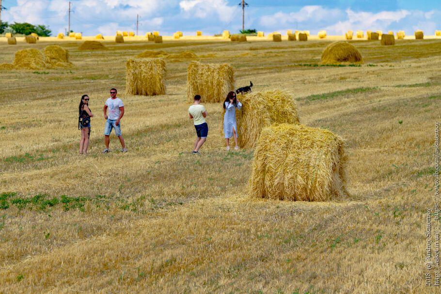 Фото крымского туриста. Много туристов