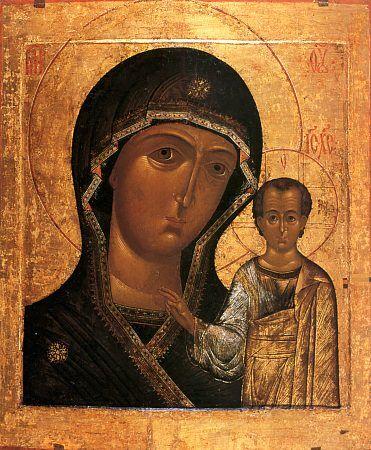 Ікона Казанської Божої Матері