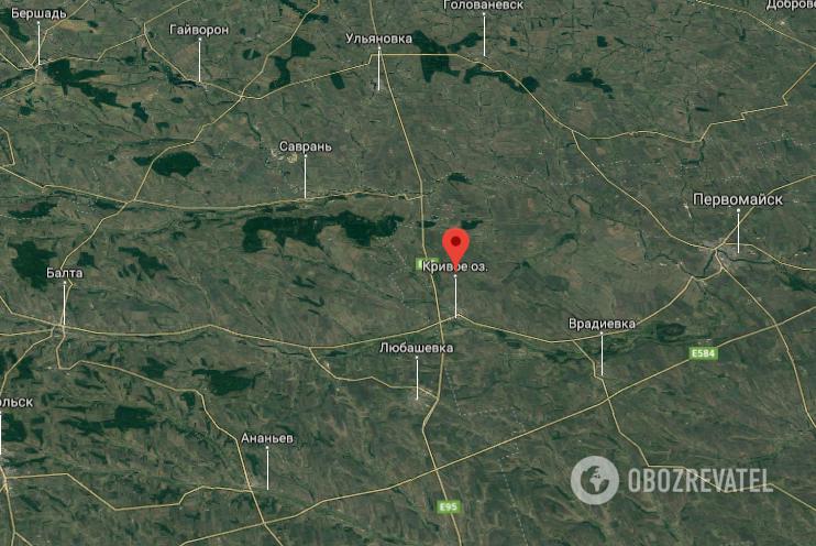 ДТП произошло на трассе Киев - Одесса, возле поселка Кривое Озеро