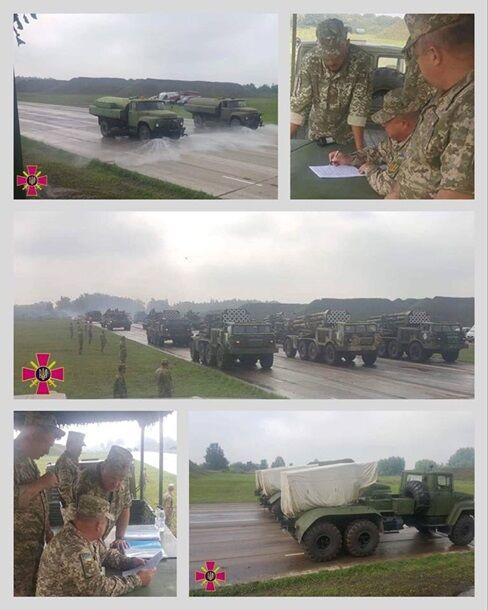 ВСУ показали технику для военного парада в Киеве