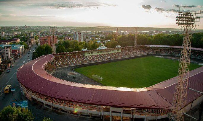 Стадіон в Тернополі