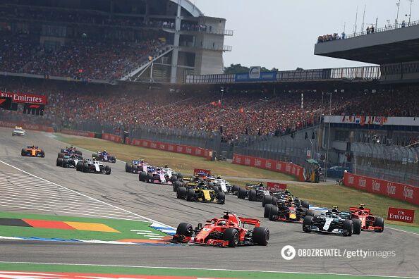 Гран-прі Формули-1 завершився катастрофою для Ferrari