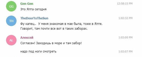 """""""Заходиш в море, а там паркан"""": з'явилися нові фото """"раю"""" в Криму"""