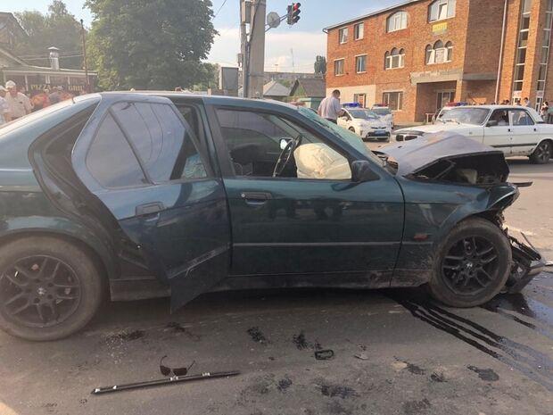 ДТП в Черкассах: водитель на тротуаре задавил мать с ребенком