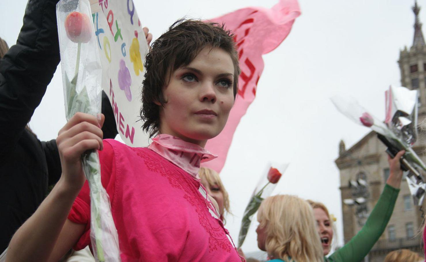 Активистка Оксана Шачко