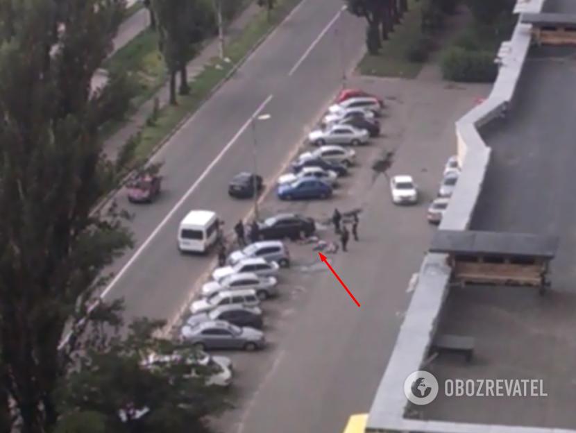 Полицейская спецоперация в Киеве