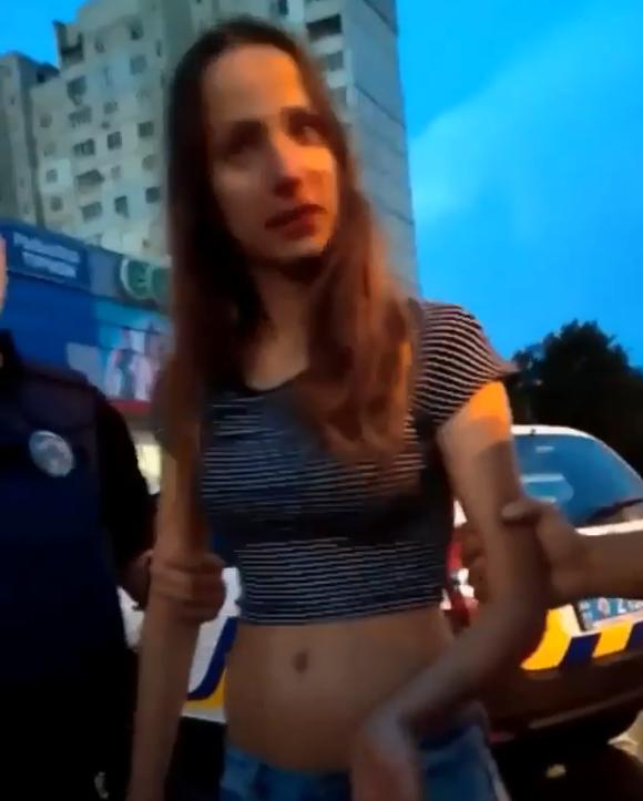 Известную блогершу из Харькова поймали пьяной за рулем