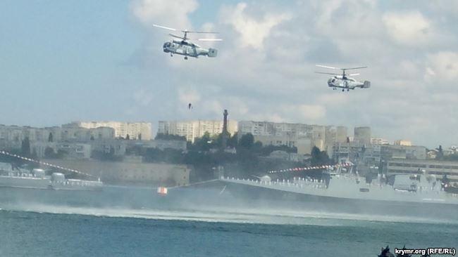Российские военные опозорились в Севастополе