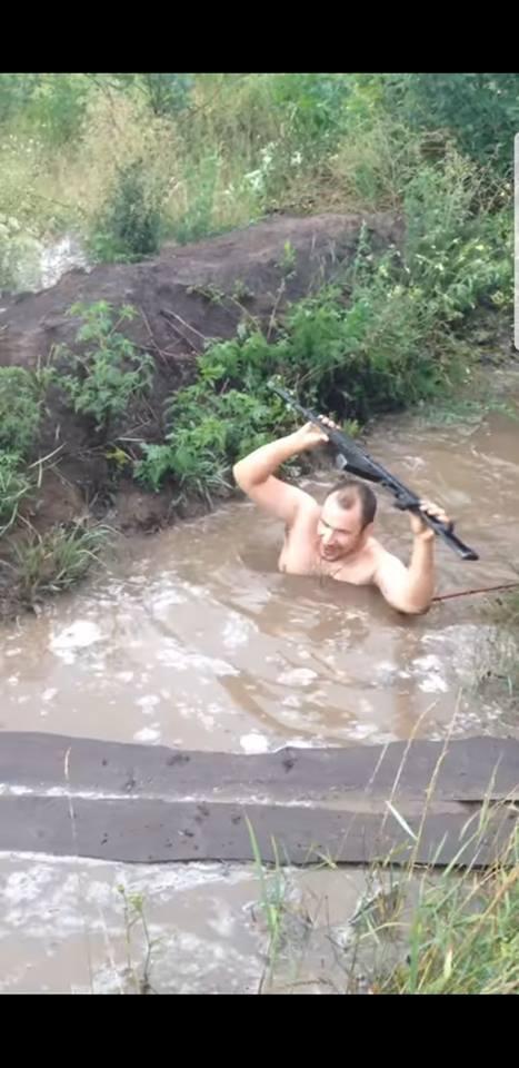 Позиции ВСУ на Донбассе утонули