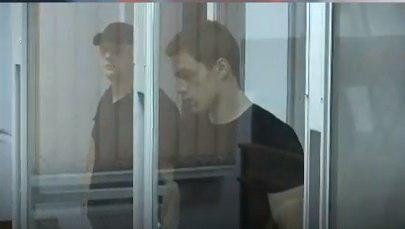 Кирилл Островский во время судебного слушания