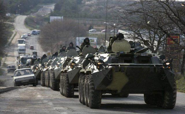 Військова техніка в Криму